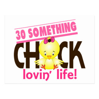 30-Something Chick 6 Postcard