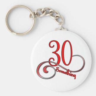 30 Something Keychain