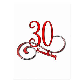 30 Something Postcard