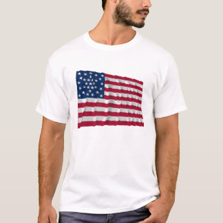 30-star flag, Great Star Medallion and Outliers T-Shirt