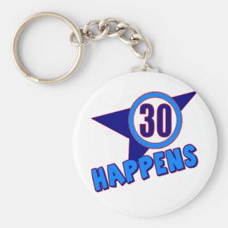 30 suceden los trigésimos regalos de cumpleaños llaveros personalizados