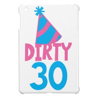 30 sucios con el gorra lindo del cumpleaños