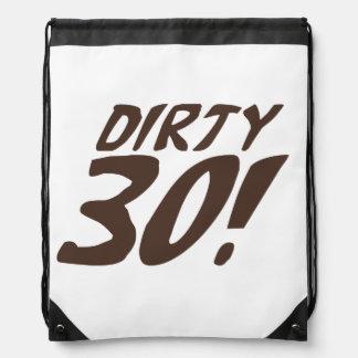 30 sucios mochilas