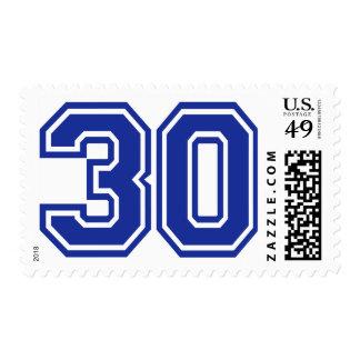 30 - treinta sello