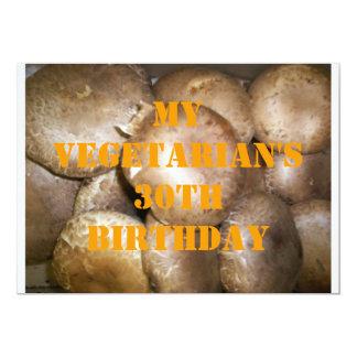 30 Vegetarian Birthday 5 Invite