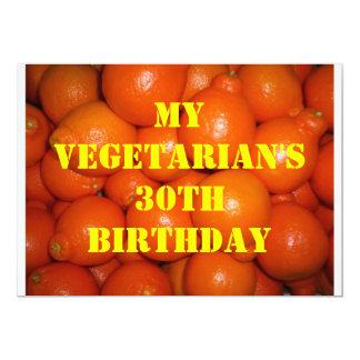 30 Vegetarian Birthday 6 Announcement