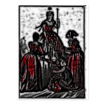 30 - Widow Queen Postcard