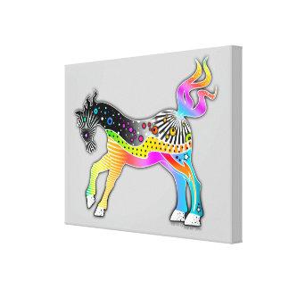 """30""""X40"""" CANVAS PRINT Pop Art HORSE"""