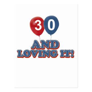 30 y amor de lo postales