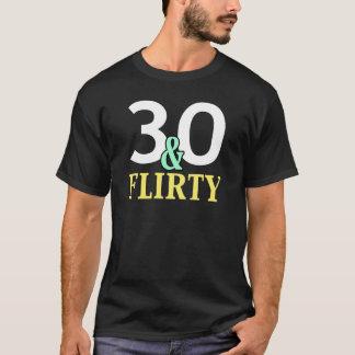 30 y camiseta coqueta