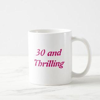 30 y el emocionar tazas