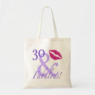 30 y fabuloso bolsa tela barata