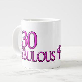30 y FABULOSO Taza Grande