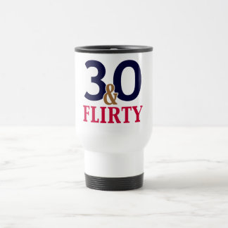 30 y trigésimo cumpleaños coqueto tazas