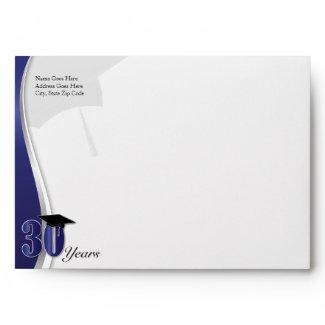 30 Year Class Reunion Envelope envelope