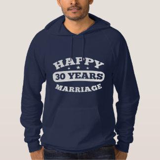 30 Year Happy Marriage Hoodie