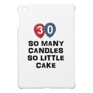 30 year old candle designs iPad mini covers