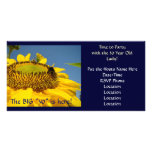 30 Year Old Lady! Birthday Party Invitation Flower Photo Card