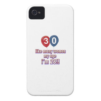 30 year old women designs iPhone 4 Case-Mate cases