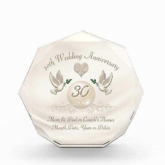 30 Year Wedding Anniversary Gift: 30 Year Wedding Anniversary Gift For Parents