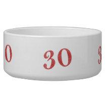 30 years anniversary bowl