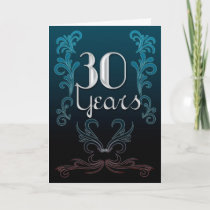 30 Years (anniversary) Card