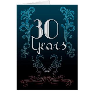 30 Years (anniversary) Card