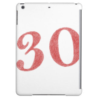 30 years anniversary case for iPad air