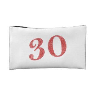 30 years anniversary makeup bag