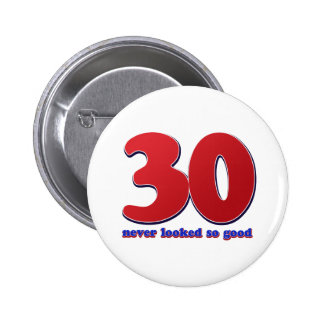 30 years button