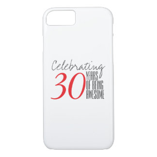 30 years of being awesome iPhone 8/7 case