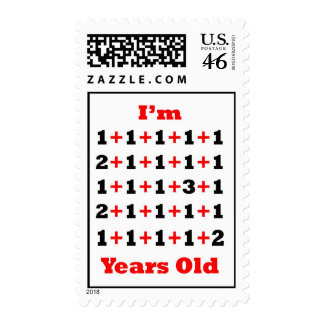 30 Years Old B Red Postage Stamps