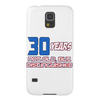 30 YEARS OLD BIRTHDAY DESIGNS GALAXY S5 COVER