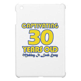 30 YEARS OLD BIRTHDAY DESIGNS iPad MINI CASES