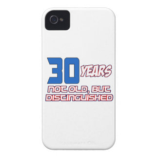 30 YEARS OLD BIRTHDAY DESIGNS iPhone 4 CASE
