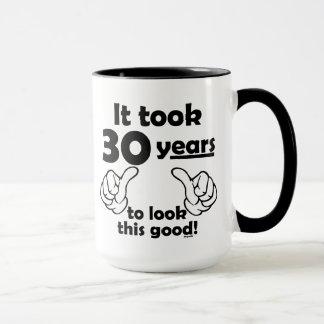 30 years to look this good mug