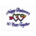 30 Years Together Postcard
