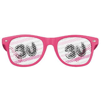 30 yr Bday Pink - 30th Birthday Retro Sunglasses