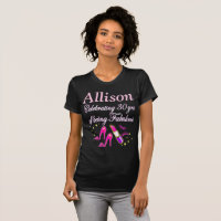 30 YRS OF BEING FABULOUS PERSONALIZED T SHIRT