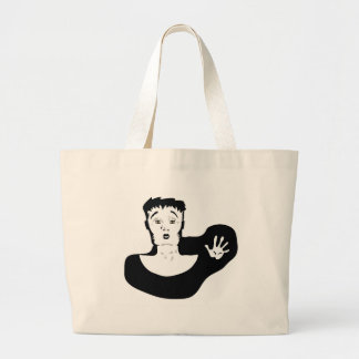 30clown large tote bag