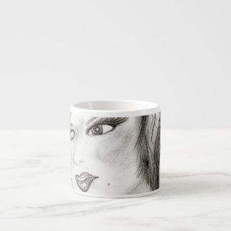 30s Girl Espresso Cup