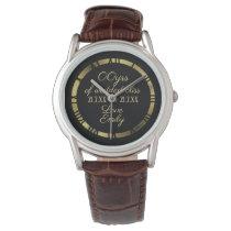 30th 35th 40th 45th Wedding Anniversary Husband 2 Wristwatch