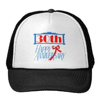 30th anniversary 3 trucker hat