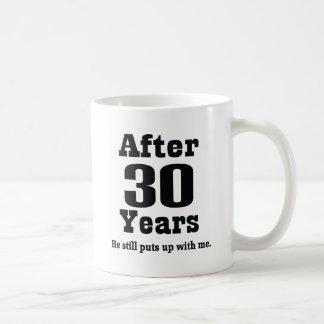 30th Anniversary (Funny) Coffee Mugs