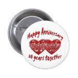 30th. Anniversary Pin
