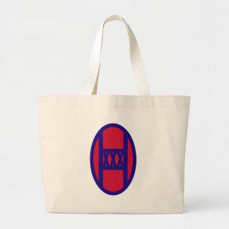 30th Armored Brigade Large Tote Bag