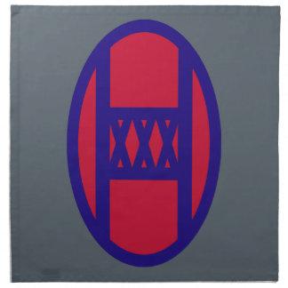 30th Armored Brigade Napkin