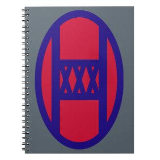 30th Armored Brigade Notebook