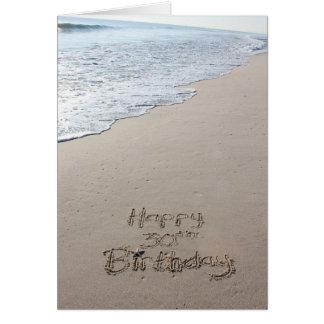 beach birthday cards  zazzle, Birthday card