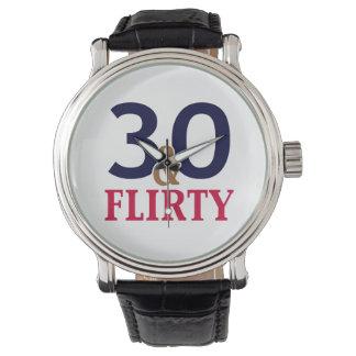 30th Birthday 30 and Flirty Watch